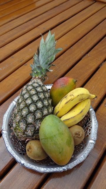 ovocná dieta z Karibiku