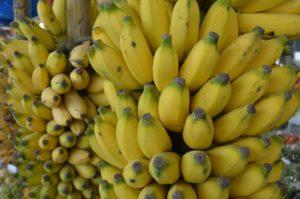 Banány jsou zdravé