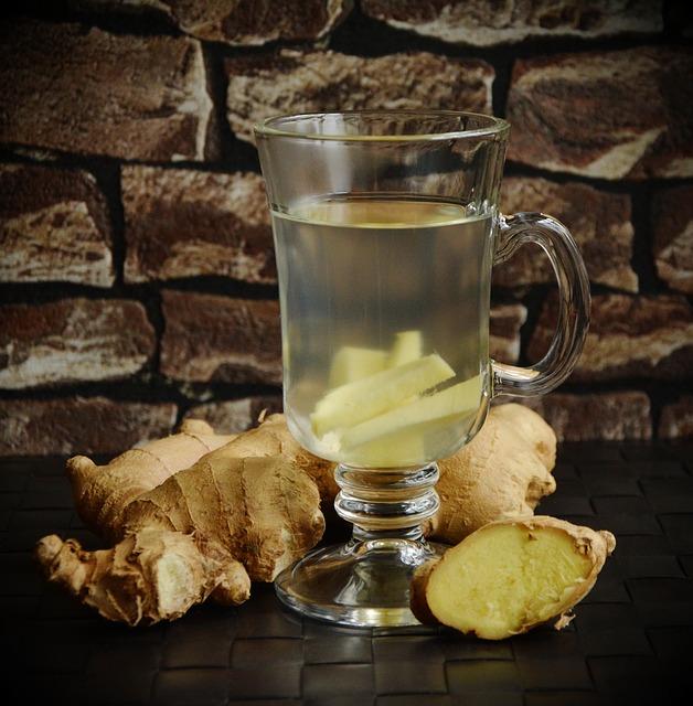 Recept na domácí zázvorový sirup a čaj proti kašli