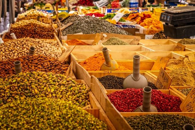 Hubnutí a dieta s pomocí koření a zeleniny