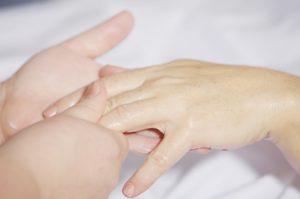 Reflexologie ruky