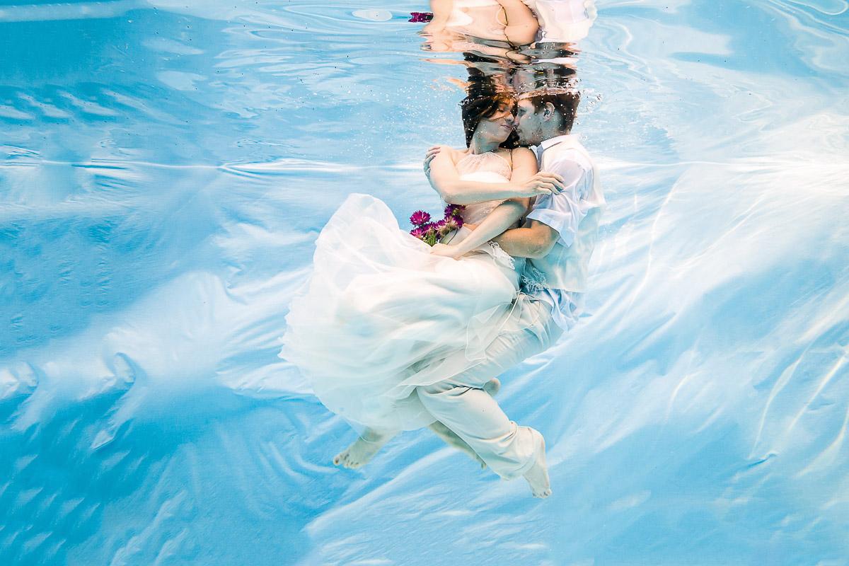 Co ani Wikipedie neví o svatebním focení pod vodou