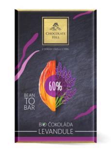 Levandulová čokoláda BIO 60%