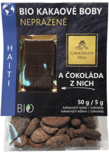 Bio kakaové boby z Haiti