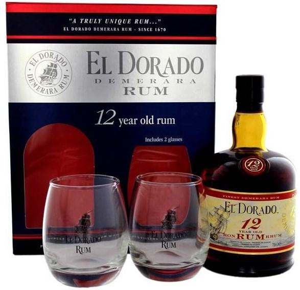 karibský rum El Dorado Rum 12yo