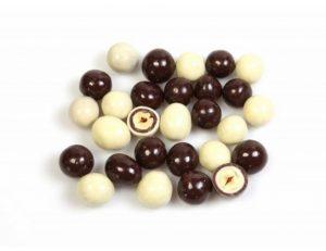 ořísky v belgické čokoládě,