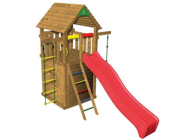 Dětské hřiště na zahradě poskytne dětem skvělou zábavu